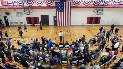 Der Bewerber um die demokratische Präsidentschaftskandidatur Pete Buttigieg (imago images / ZUMA Press / Brian Cahn)