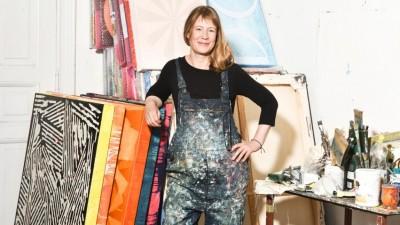 Die Künstlerin Clara Brörmann. (Andrea Katheder / Schwarz Contemporary)