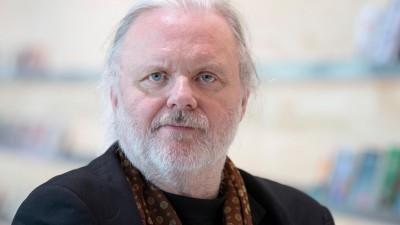 Porträt des Autoren Jon Fosse auf der Frankfurter Buchmesse. (Picture Alliance / dpa / Boris Roessler)