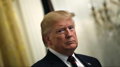 US-Präsident Donald Trump im Weißen Haus (picture alliance / Consolidated News Photos / Yuri Gripas)