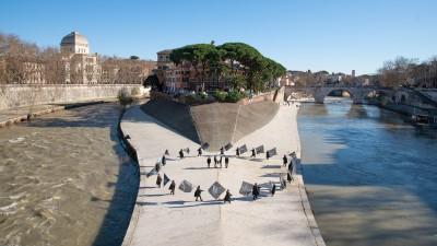 (ANDRECO - Parata Tiberina degli Inizi - produzione Fondazione Romaeuropa - festa di Roma 2020)