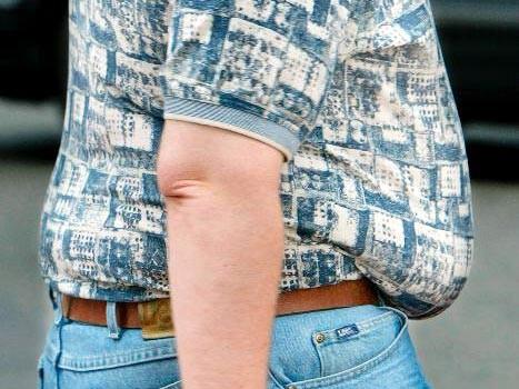 Schwangerschaft nach werde dicker immer Ich werde