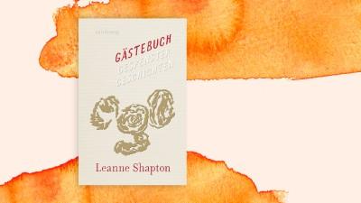 """Buchcover """"Gästebuch – Gespenstergeschichten"""" von Leanne Shapton (Suhrkamp Verlag / Deutschlandradio)"""