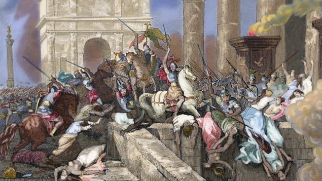Rom In Der Spatantike Der Untergang Einer Supermacht Archiv