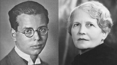 Collage aus zwei nahen Porträtbildern von Hans und Irmgard Litten. (Uccello)