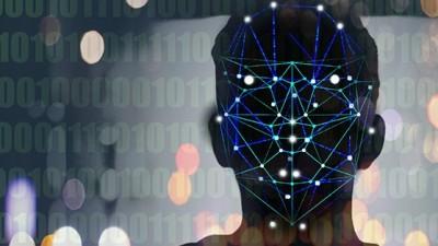 Gesichtserkennungstechnologie *** face recognition technology PUBLICATIONxINxGERxSUIxAUTxONLY Copyright: xGaryxWatersx 11591905 (imago | Ikon Images)