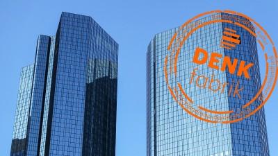 Deutsche-Bank-Hochhaus, gesehen aus der Taunusanlage in Frankfurt am Main. Foto vom 21. Januar 2017. (picture alliance / dpa / Daniel Kalker)