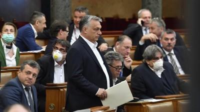 Ungarn hat ein Corona-Notstandsgesetz verabschiedet (Zoltan Mathe/MTI)