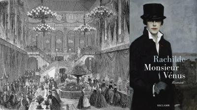 "Rachilde: ""Monsieur Vénus"" (Buchcover Reclam Verlag / Hintergrund imago stock&people)"