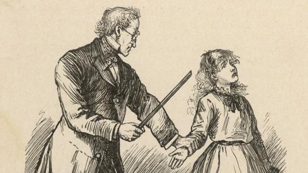 Vater vom tracht prügel Züchtigung