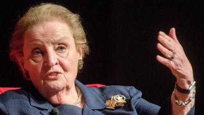Madleine Albright, frühere US-Außenministerin, aufgenommen 2017 (imago stock&people)