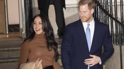 Prinz Harry und seine Frau Meghan Markle (imago/Starface)