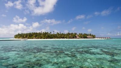 Malediveninsel Alimatha, Felidhu Atoll (imago / OceanPhoto)
