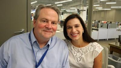 Tim Evans und Marisa Kwiatkowski (Reith/Dlf)