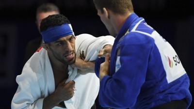 Der iranische Judoka Saeid Mollaei. (AFP/TRIBALLEAU)