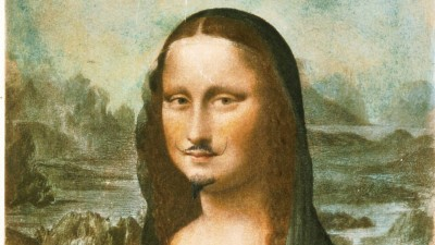 Marcel Duchamps Surrealismus: Die Mona Lisa mit Bart (Imago / United Archives International)