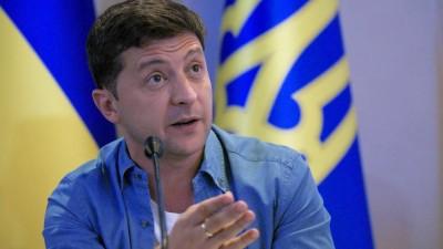 Der ukrainische Präsident Wolodymyr Selenskyj (dpa/Ukrinform)