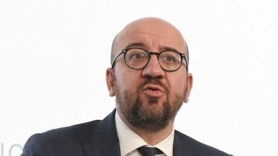 Charles Michel,bis Oktober 2019 Ministerpräsident Belgiens (afp / BELGA / LAURIE DIEFFEMBACQ)