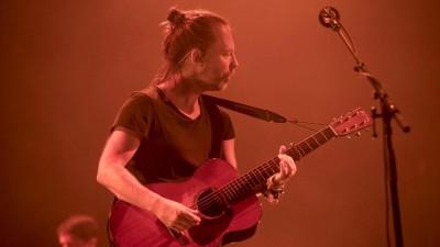 Radiohead-Frontmann Thom Yorke während eines Konzerts in Mexiko City im Oktober 2016. (dpa / EFE / OCESA)