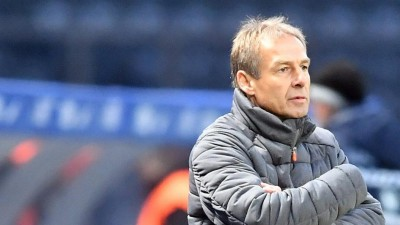 Jürgen Klinsmann in seiner Zeit als Trainer von Hertha BSC (www.imago-images.de)