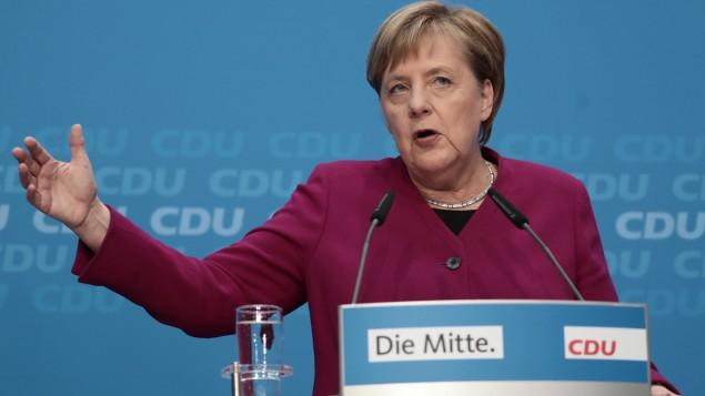 Cdu Beben Nach Der Hessen Wahl Merkel Verzichtet Auf Parteivorsitz Archiv