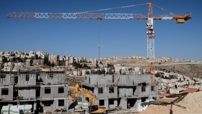 Siedlungsbau in Ost-Jerusalem im Januar 2017. (dpa/pa/Nir Alon/ZUMA Wire)