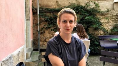 Porträt der Tänzerin Cindy Hammer (Bastian Brandau / Deutschlandradio)