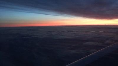 Die letzten Sonnenstrahlen vor der monatelangen Nacht im Winter auf Spitzbergen (Dlf/Frank Capellan)