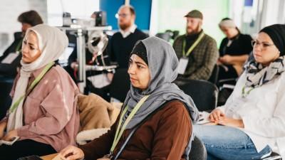 Das Projekt Shalom Aleikum bringt in Deutschland Juden und Muslime für Gespräche zusammen. (Zentralrat der Juden / Malina Ebert )