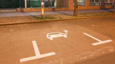 Die Ladestation für Elektroautos in Leipzig (www.imago-images.de)