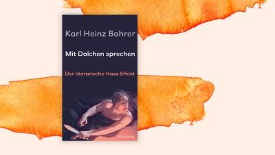 """Cover von Karl Heinz Bohrer:""""Mit Dolchen sprechen"""" (Suhrkamp)"""