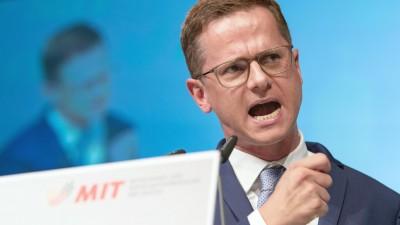 Carsten Linnemann (CDU), Vorsitzender der Mittelstandsvereinigung der Unionsparteien (dpa-Bildfunk & Swen Pförtner)