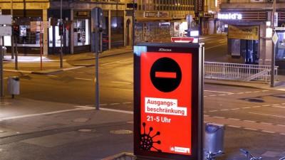 In Köln gelten seit Samstagnacht 0 Uhr Ausgangsbeschränkungen. (dpa/picture alliance/Geisler-Fotopress)
