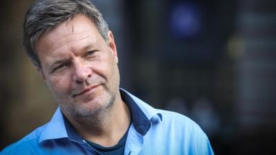 Robert Habeck, Co-Bundesvorsitzender von Bündnis 90/Die Grünen (Imago/ Rüdiger Wölk)