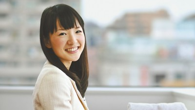 Die japanische Autorin Marie Kondo in Tokio (picture alliance / The Yomiuri Shimbun)
