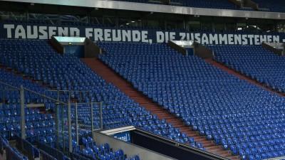 Leere Nordkurve im Schalker Stadion (TEAM2sportphoto)