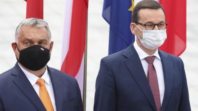 Der ungarische Ministerpräsident Viktor Orban (picture alliance/ dpa/ AP/ Czarek Sokolowski)