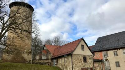 Burg Tannroda in Thüringen (Michael Frantzen)