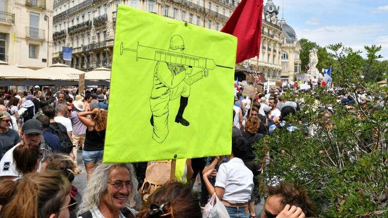 Newsblog zum Coronavirus - +++ Frankreich: Massenproteste gegen Corona-Politik +++
