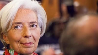 Christine Lagarde, die erste Chefin des Internationalen Währungsfonds (IWF) (dpa/ picture alliance / Jean Nicholas Guillo)