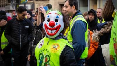 Demonstration der Gelbwesten in Frankreich (Imago Images / Hans Lucas)