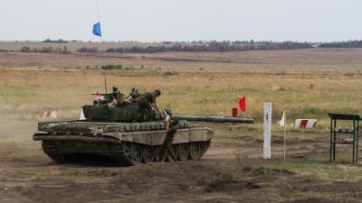 Militärmanöver in der ukrainischen Region Donezk im August 2020 (dpa / Russian Look / Alexander Rekun)