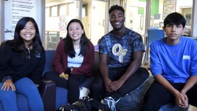 """Schüler der Palo Alto High School:""""Entweder Du schaffst es bis ganz nach oben oder Du musst den Rest deines Lebens Burger braten."""" (Deutschlandradio/Tom Schimmeck)"""