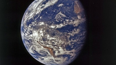 Die Erde im Weltall, aufgenommen am 26.7.1971 (picture alliance / dpa / NASA)