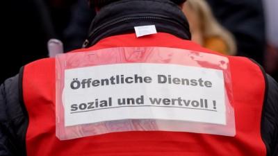 Tarifverhandlungen im öffentlichen Dienst (dpa/Axel Heimken)