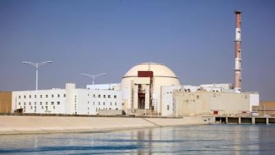 Blick auf das iranische Atomkraftwerk Buscher. (picture alliance / TASS)