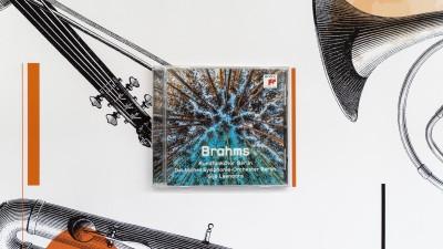 """Abbildung der CD """"Brahms Rundfunkchor Berlin"""" (Deutschlandradio / Uta Oettel)"""