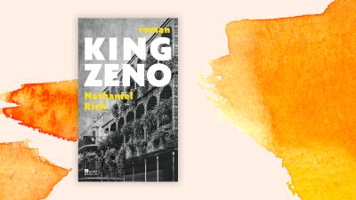 """Zu sehen ist das Cover des Buches """"King Zeno"""" von Nathaniel Rich. (Rowohlt / Deutschlandradio)"""
